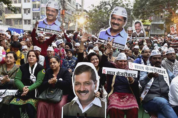 AAP election campaign