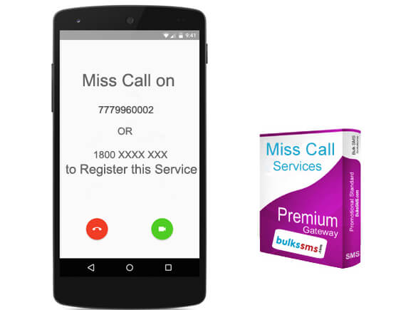 miss call services pricing