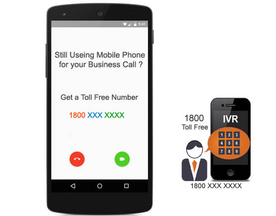 ivr and toll free number
