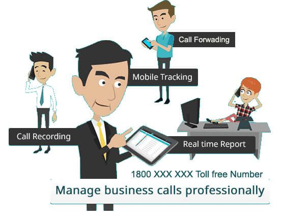 ivr & toll free number